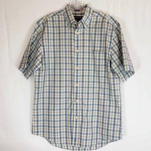 🌼Nordstrom Plaid Short Sleeve Men's Shirt
